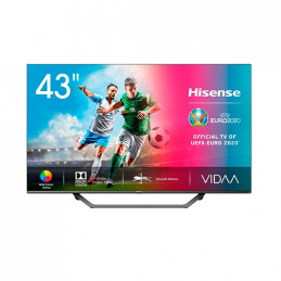 TV DLED 43 HISENSE H43A7500F SMART TV 4K UHD STV VIDAA 40