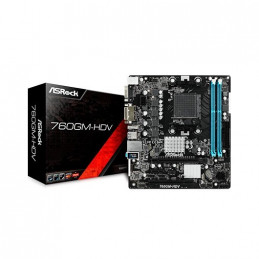 PLACA BASE ASROCK AM3 760GM HDV