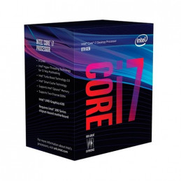 PROCESADOR INTEL 1151 8G I7 8700 6X32GHZ 12MB BOX