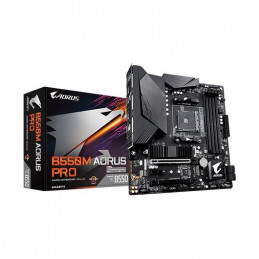 PLACA BASE GIGABYTE AM4 B550M AORUS PRO 10