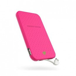POWERBANK ENERGY SISTEM EXTRA BATTERY 2500 FUCSIA