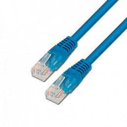 CABLE RED UTP CAT5E RJ45 AISENS 05M AZUL