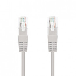 CABLE RED UTP CAT6 RJ45 NANOCABLE 1M