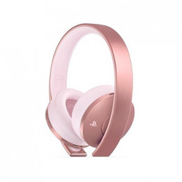 AURICULARESMICRO WIRELESS SONY PS4 ROSE GOLD