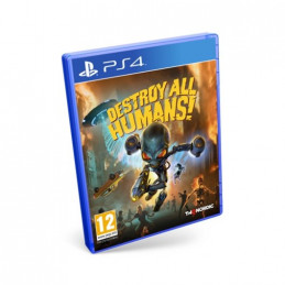 JUEGO SONY PS4 DESTROY ALL HUMANS
