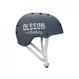 CASCO OLSSON TALLA S M ADULTO ANTRACITA