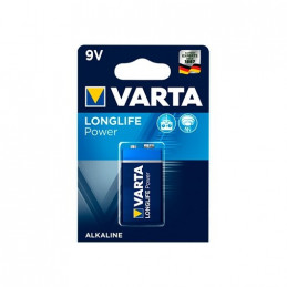 PILA ALCALINA VARTA 6LR61 6LP3146 9V HIGH ENERGY