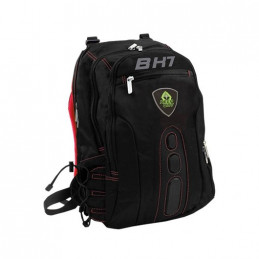MOCHILA PORTATIL 156 KEEP OUT BK7R NEGRO ROJO ASAS Y RES