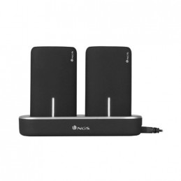 POWERBANK NGS TWINPEAKS 2 x 5000mAh BASE CARGA