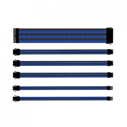 KIT EXTENSION CABLES COOLER MASTER AZUL NEGRO