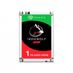 DISCO DURO 35 1TB SATA 3 SEAGATE 64MB IRONWOLF
