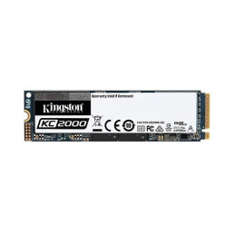 DISCO DURO M2 SSD 2000GB PCIE KINGSTON KC2000 NVMe 2280