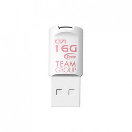 PENDRIVE 16GB USB20 TEAMGROUP C171 WHITE