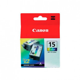 CARTUCHO ORIG CANON BCI 15 COLOR PACK 2