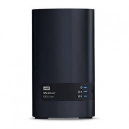 NAS SERVIDOR WD MY CLOUD EX2 ULTRA 4TB