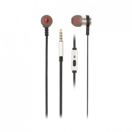 AURICULARES MICRO NGS CROSS RALLY PLATA
