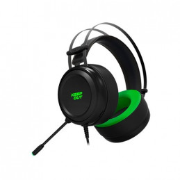 AURICULARES MICRO KEEP OUT GAMING HX10 71 NEGRO 71 EFFEC