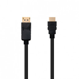 CABLE DISPLAY PORT M A HDMI M 2M NANOCABLE