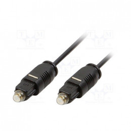 CABLE AUDIO FIBRA OPTICA LOGILINK CA1008 2M
