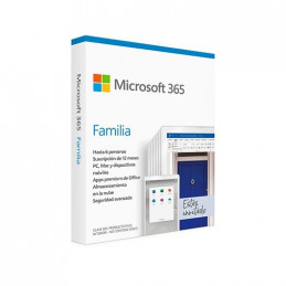 SOFTWARE MICROSOFT OFFICE 365 FAMILY