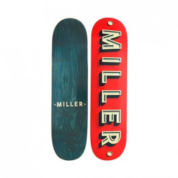TABLA SKATE MILLER CORPORATE 825 X 32 ROJO
